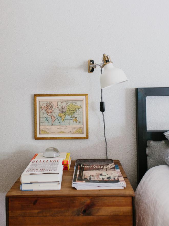 Margarets Modern Vintage Master Bedroom Closet The Effortless - Modern vintage bedroom