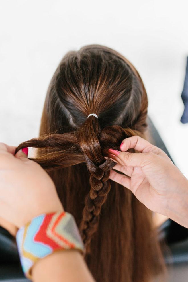 Mermaid Braid Hair Tutorial - The Effortless Chic