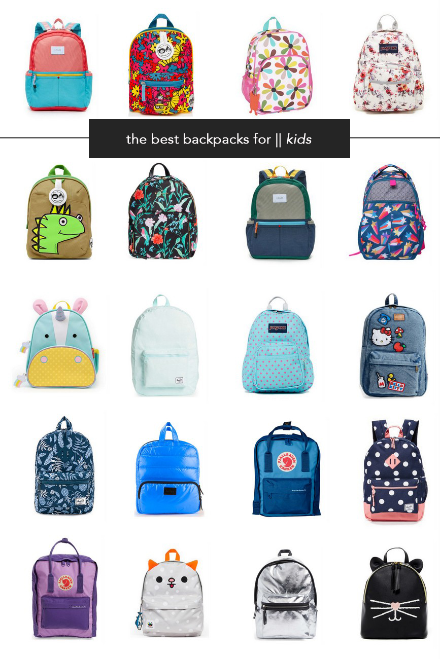 The Best Backpacks For Stylish Kids And Grown Ups The Effortless Chic