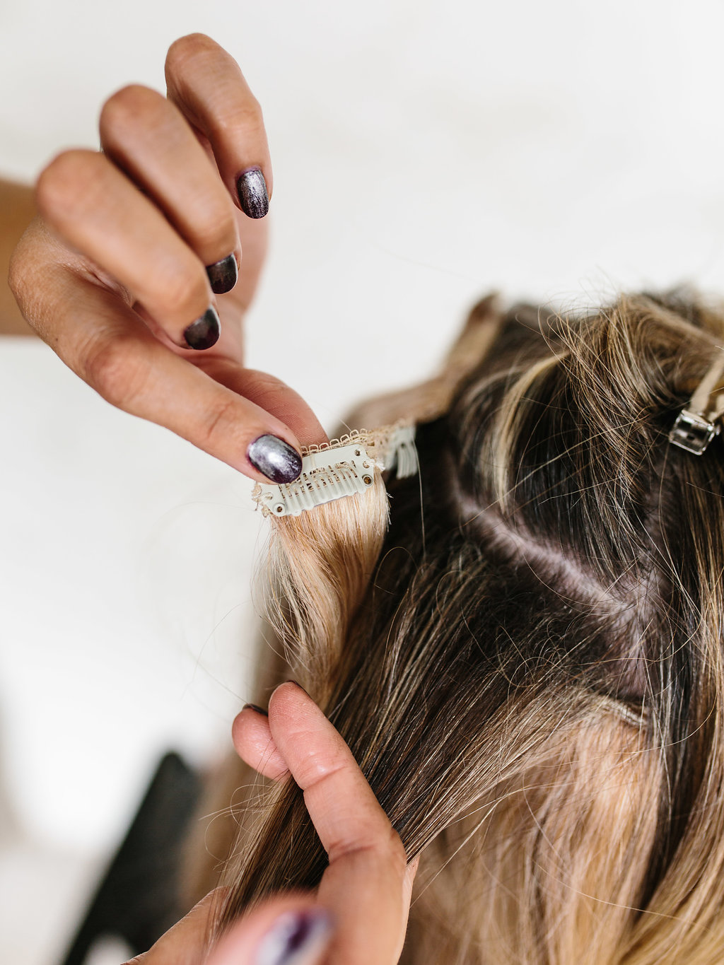 How To Wear Clip In Hair Extensions The Effortless Chic