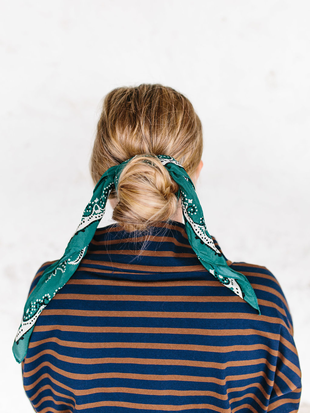 second hair scarf style