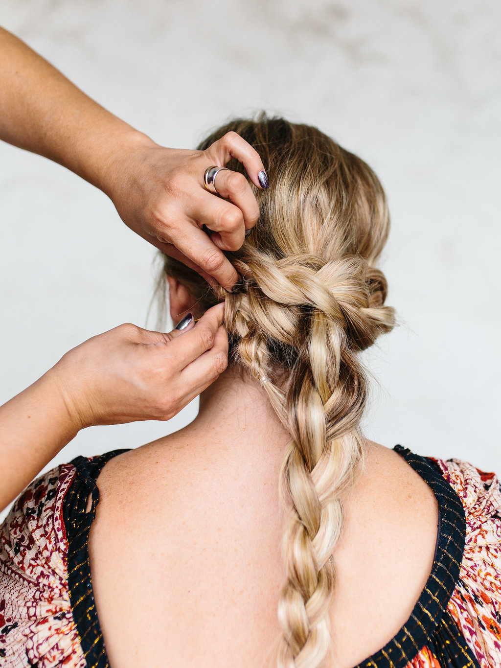 Securing the end of a braid