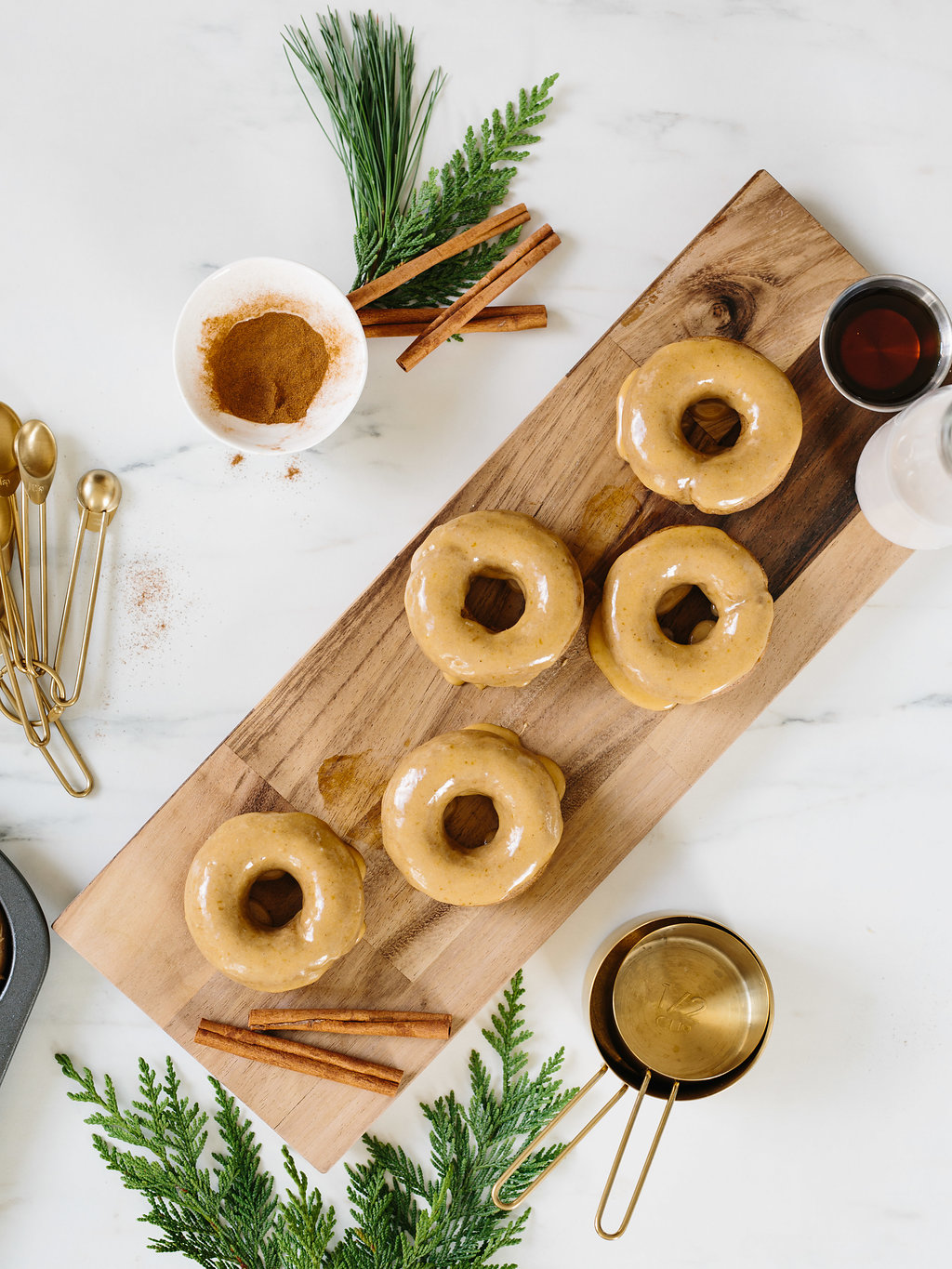 Gluten Free Maple Spiced Donuts Recipe