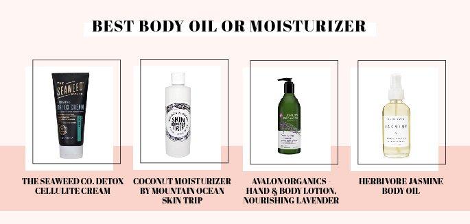 Best body moisturizers