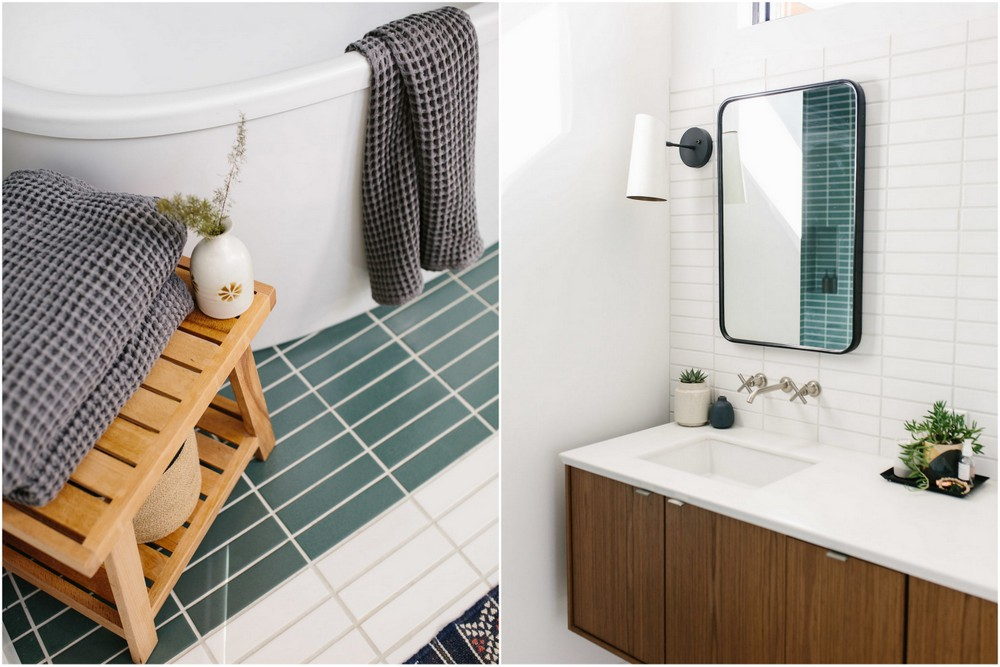Our Austin Casa Mid Century Modern Master Bathroom The