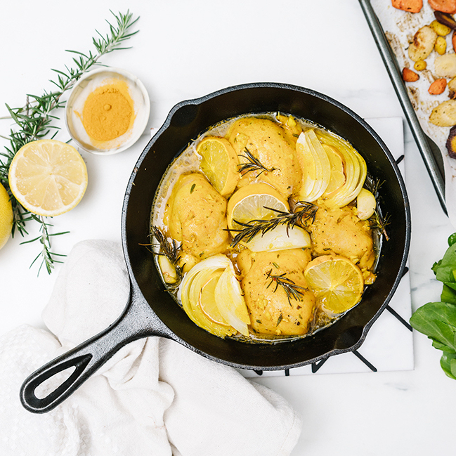 Lemon Turmeric Chicken