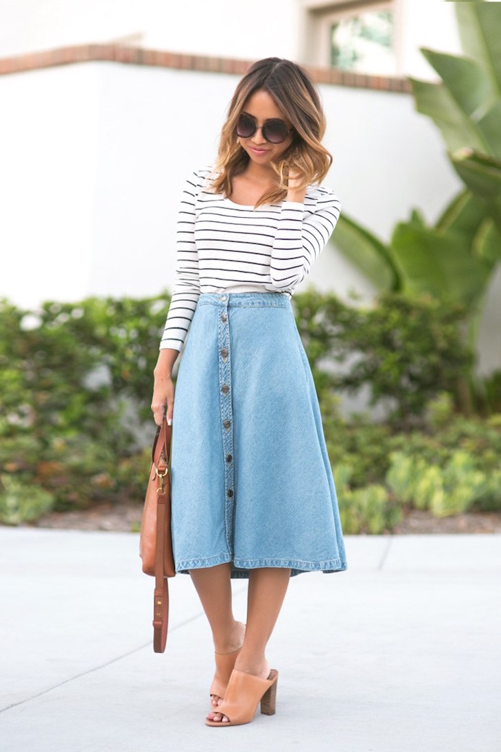 886c677483 lace-and-locks-petite-fashion-blogger-denim-midi-skirt-02 - The ...