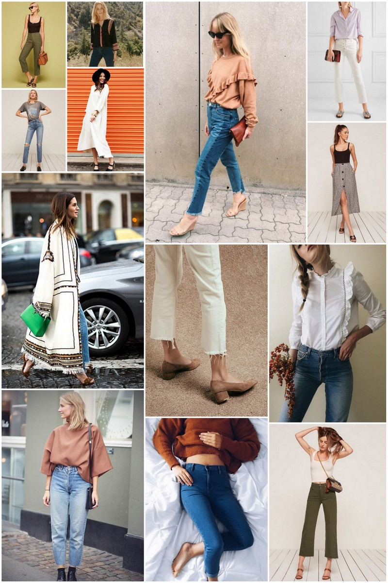 A style board for a wardrobe overhaul