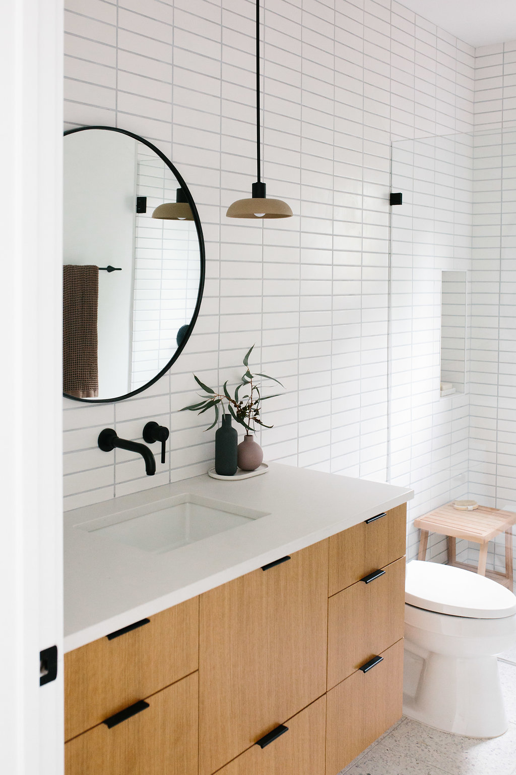 Our Austin Casa || The Terrazzo Guest Bathroom Reveal - The ...