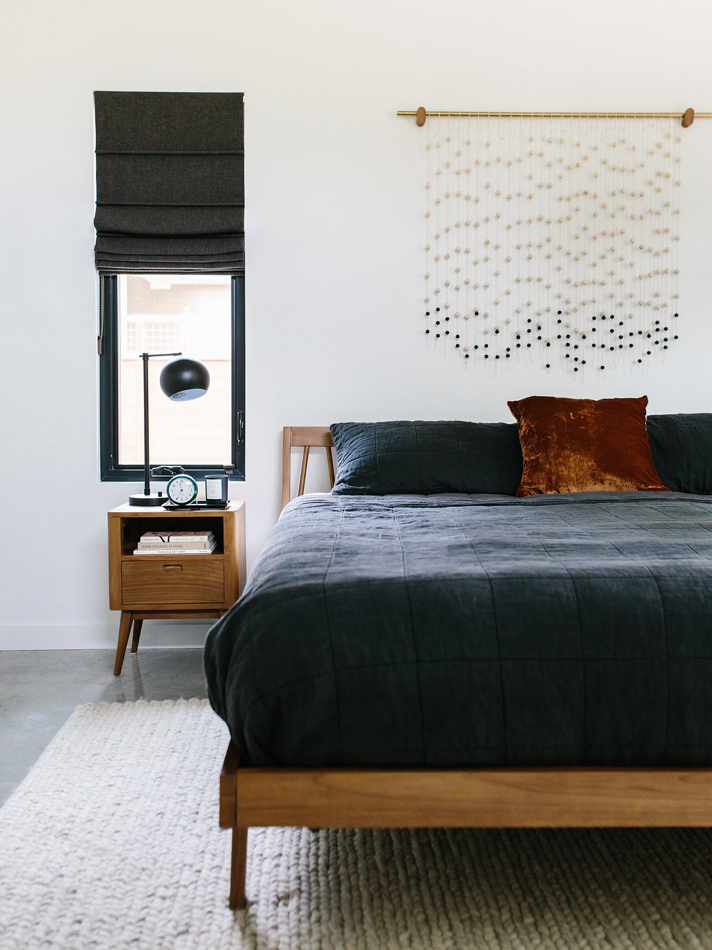 Our Austin Casa || Mid-Century Modern Master Bedroom ...