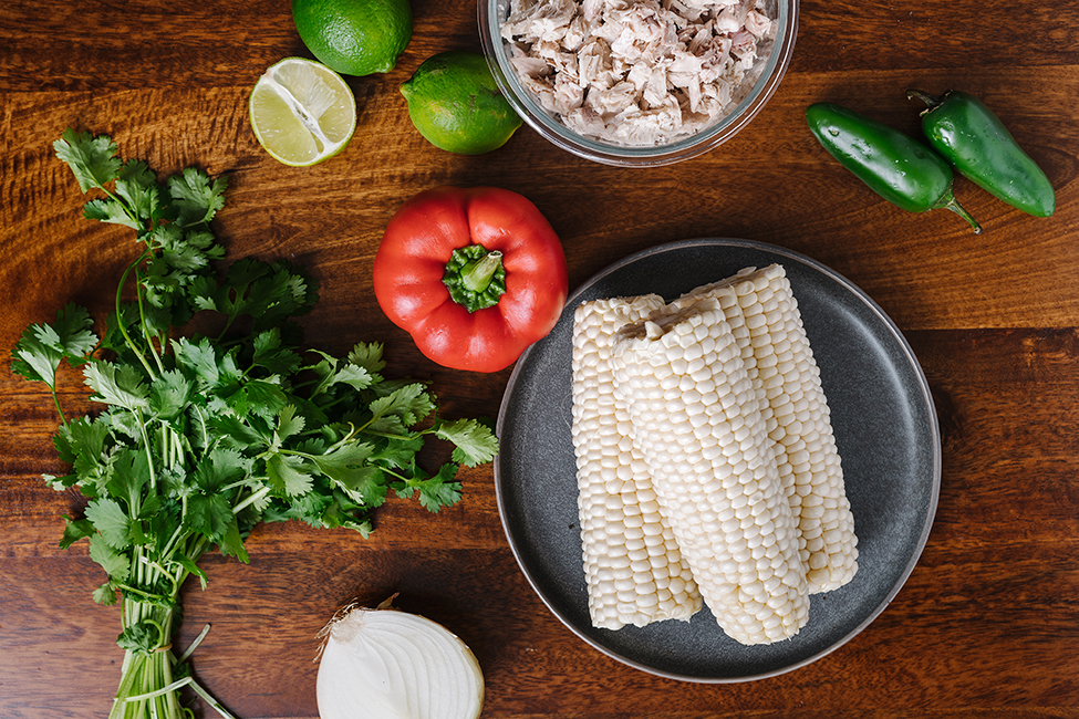 Ingredients to make Easy Chicken Chili