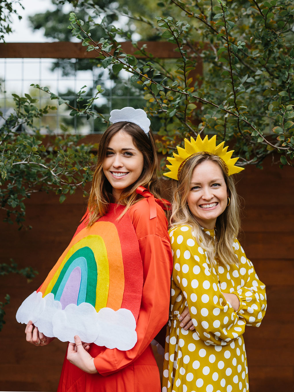 Halloween Friend Costumes.The Easiest Diy Halloween Costume For Friends A Rainbow And