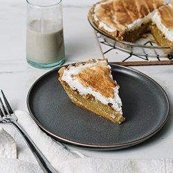 Buttermilk Pie with Gluten Free Crust