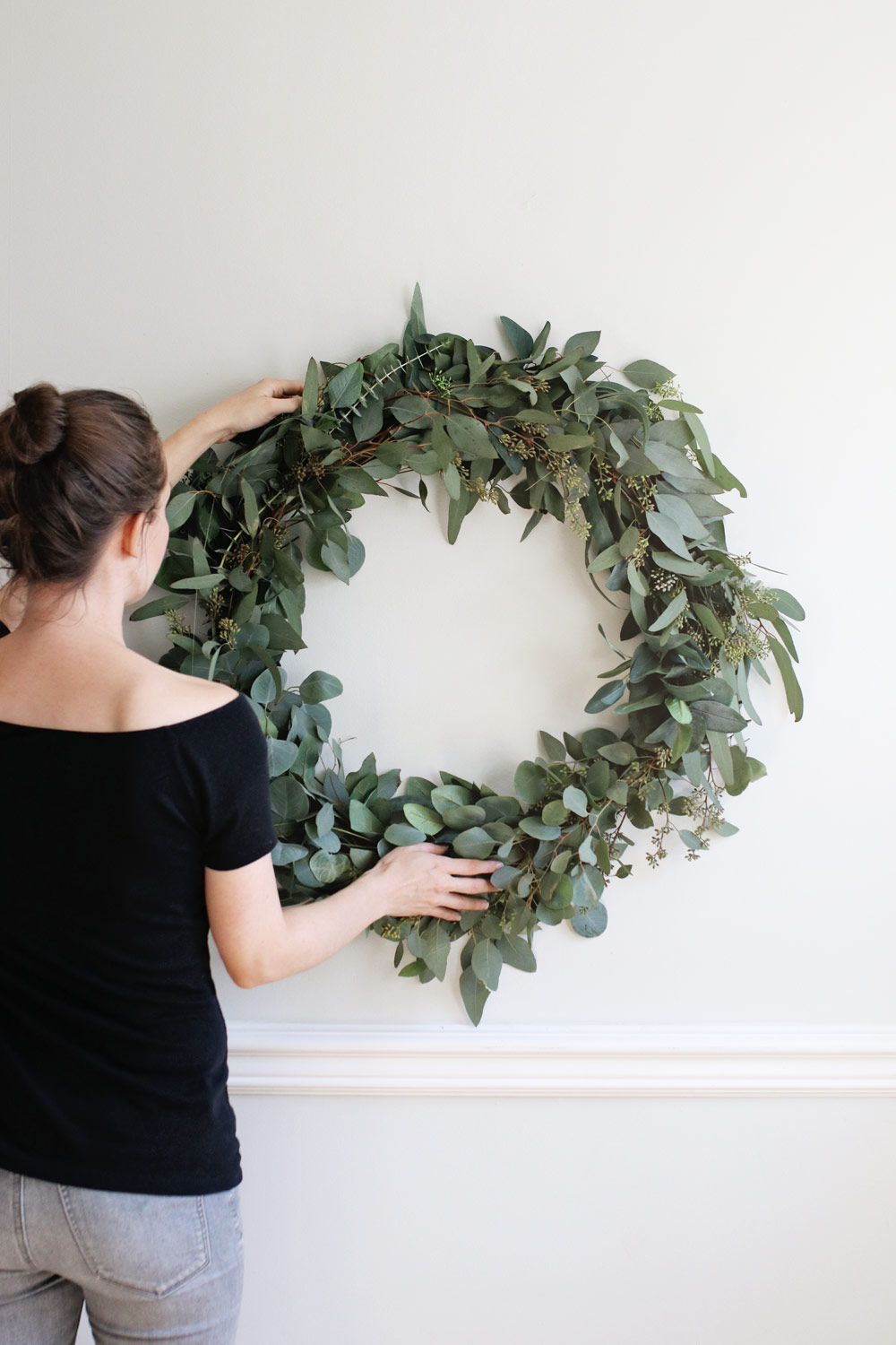 wreath holiday project