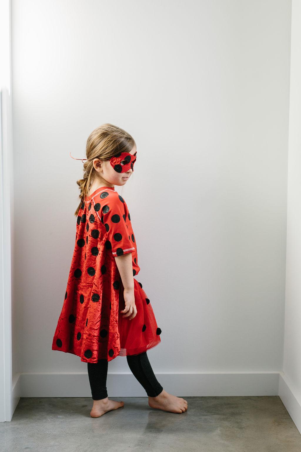 Modelling a miraculous ladybug costume