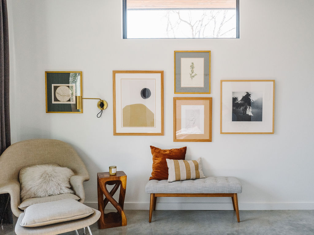 Master Bedroom Update: A Meaningful Gallery Wall > The ...