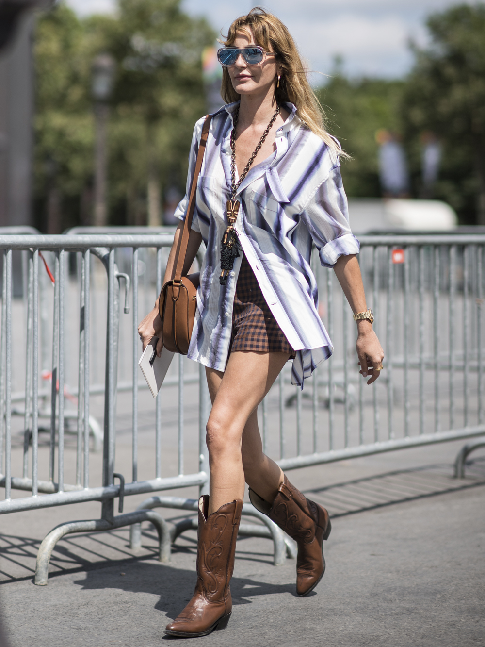 How to Wear Cowboy Boots in the summer