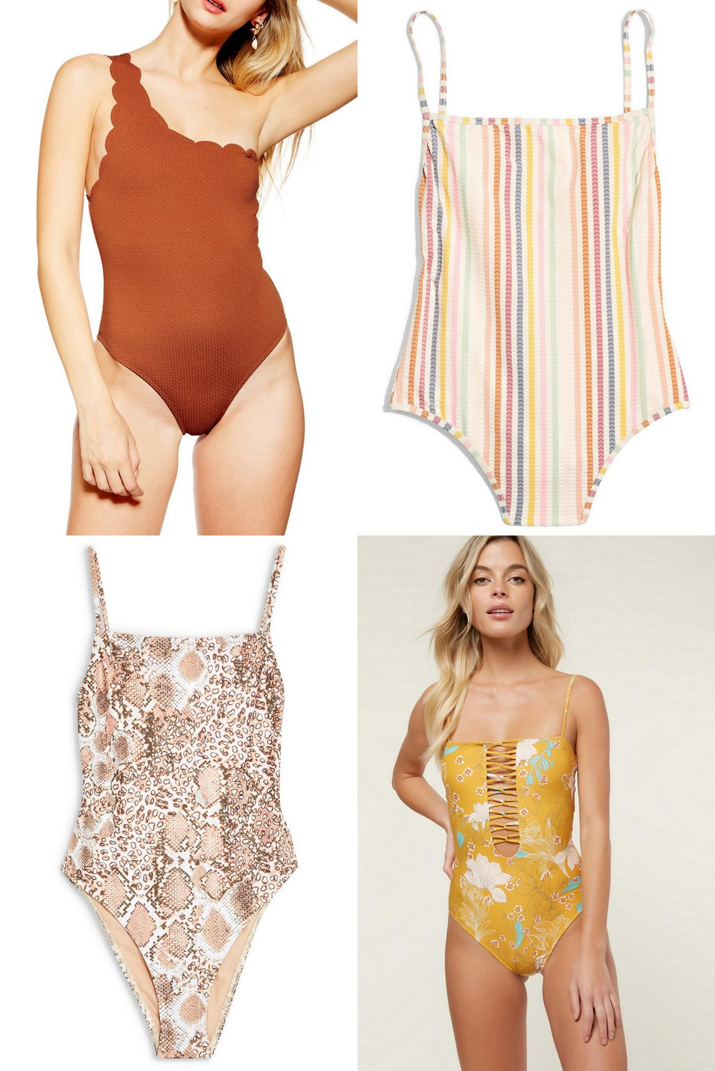 the Best One Piece Swimsuits
