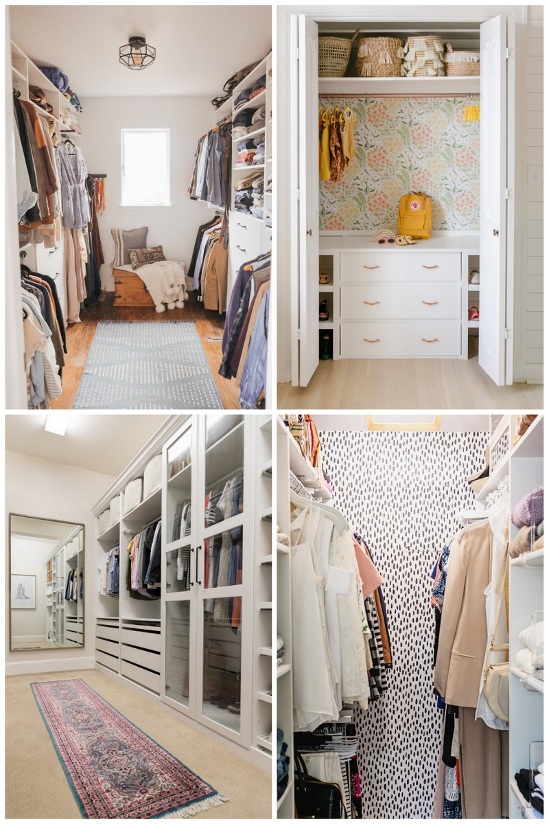 Closet Before and Afters
