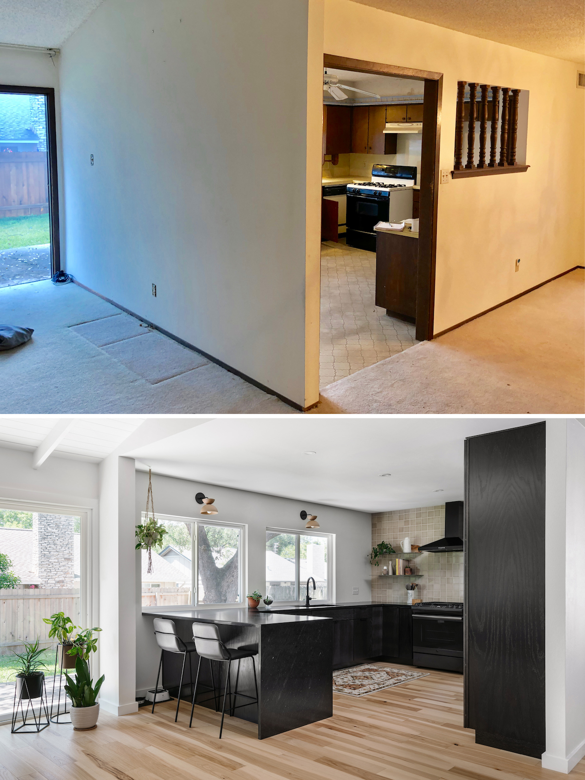 1970s Kitchen Remodel Before and Afters > The Effortless Chic on Modern:gijub4Bif1S= Kitchen Remodel  id=75238