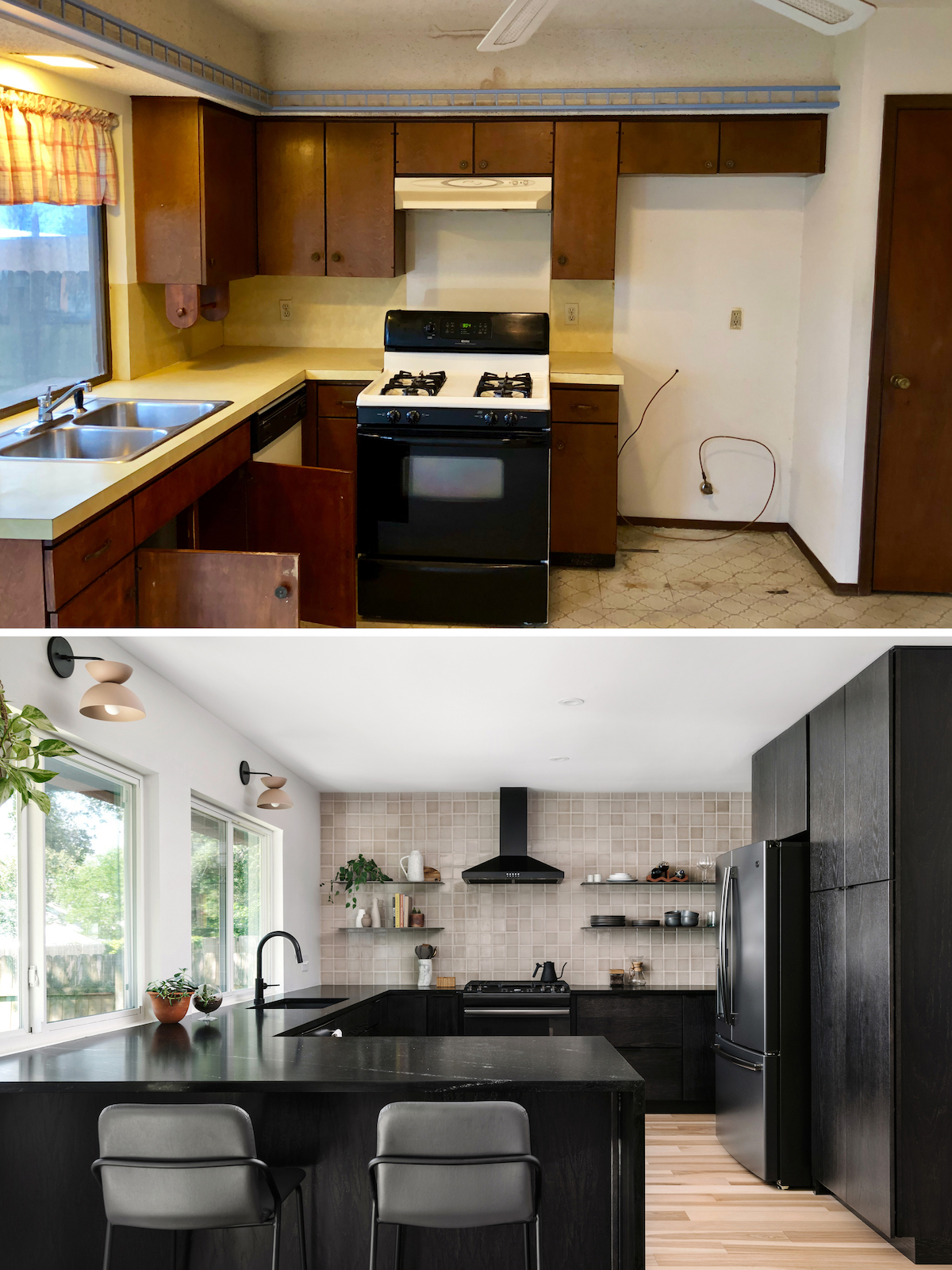 1970s Kitchen Remodel Before And Afters The Effortless Chic