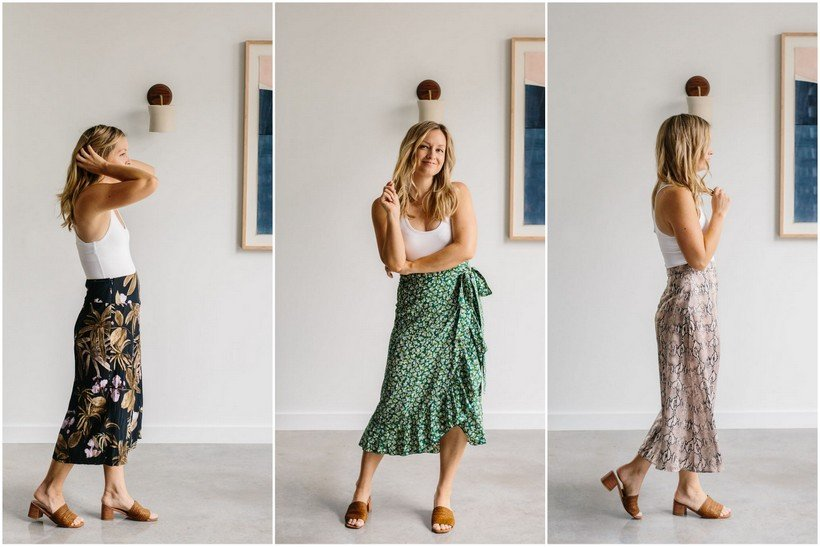 3e9e0f2d All the Best Midi Skirts for Summer - The Effortless Chic