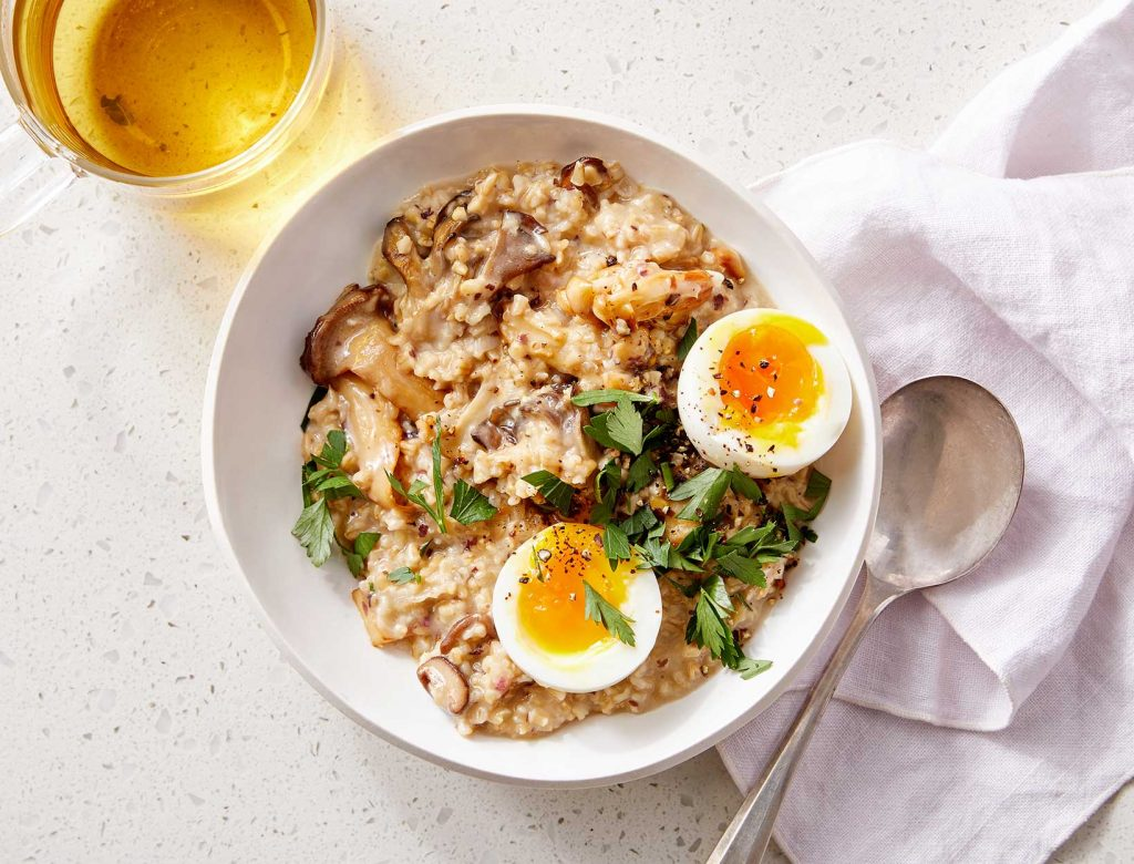 savory oats weekend breakfast recipe