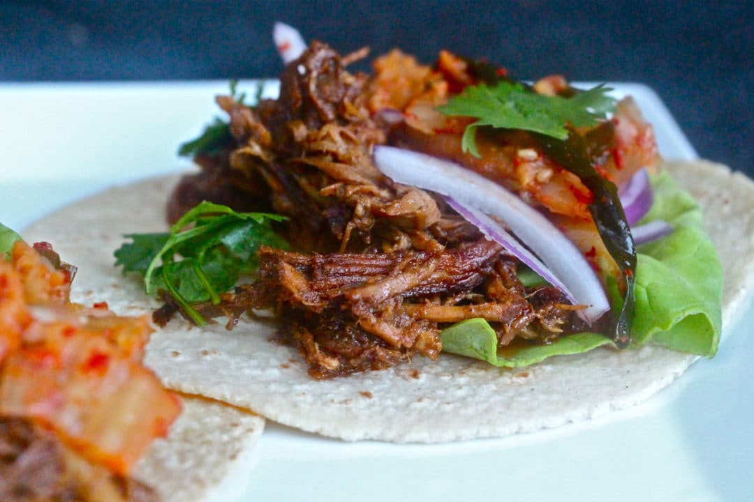 Pork tacos for an easy weeknight meal