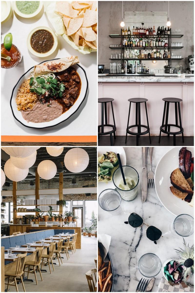 collage of best restaurants on Nashville