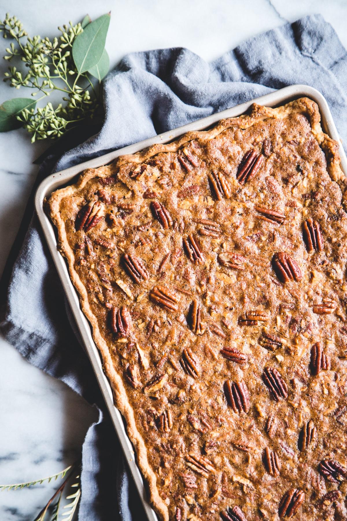 thanksgiving slab pie