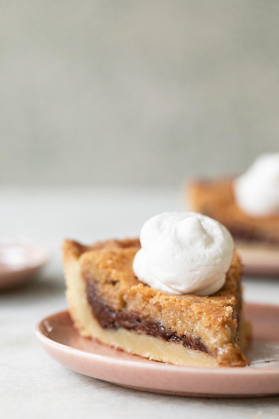 shot of pie