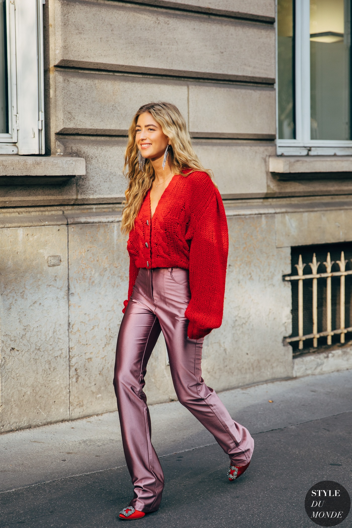 Pink and Red Outfit