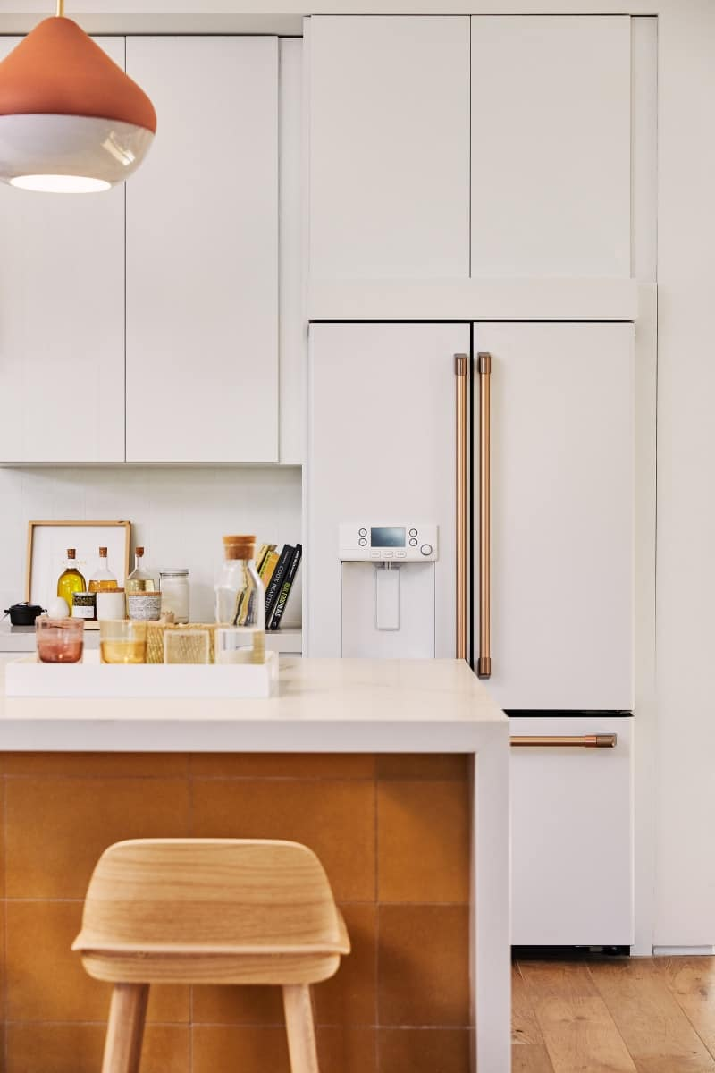cafe appliances matte white best refrigerator for your kitchen