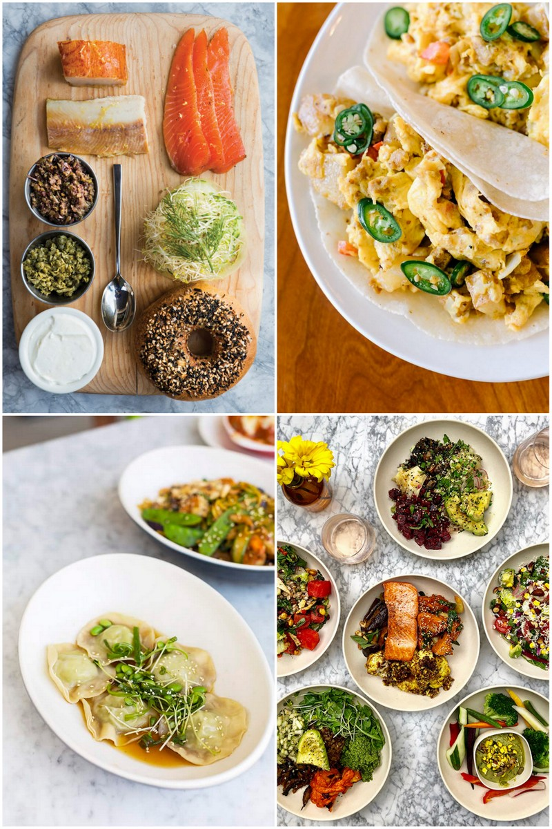 collage of healthy dishes