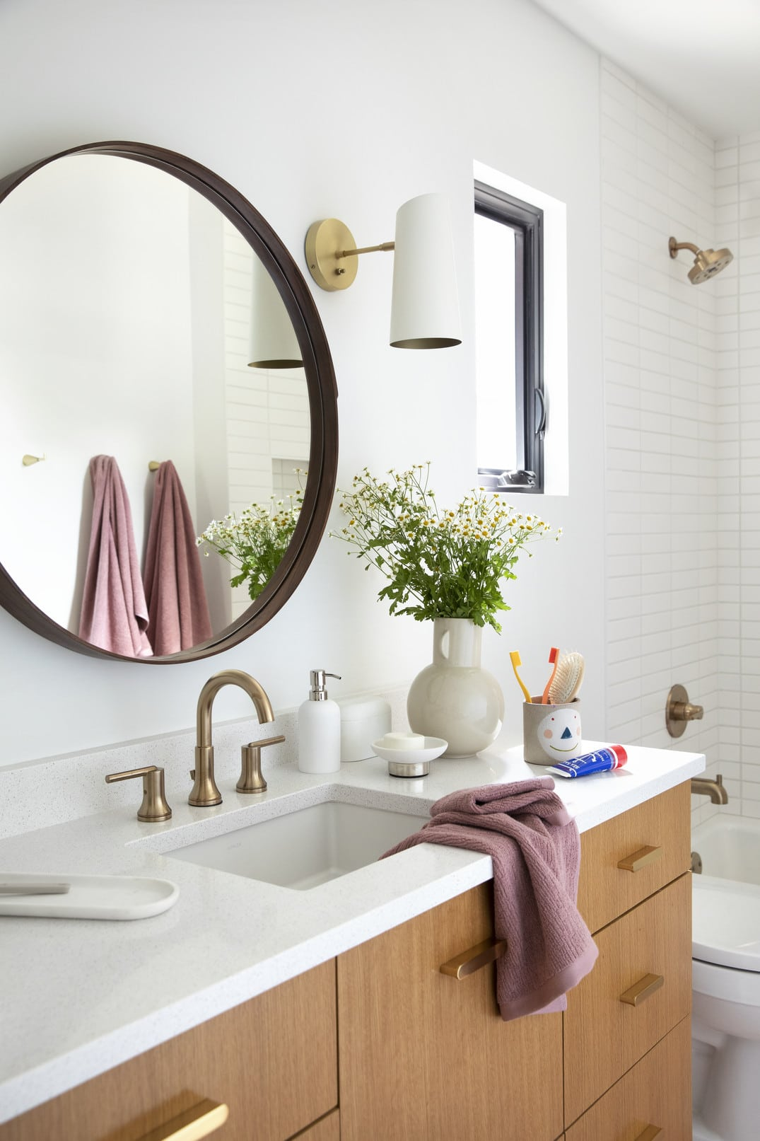 Our West Elm Bedroom And Bathroom Collaboration The Effortless Chic