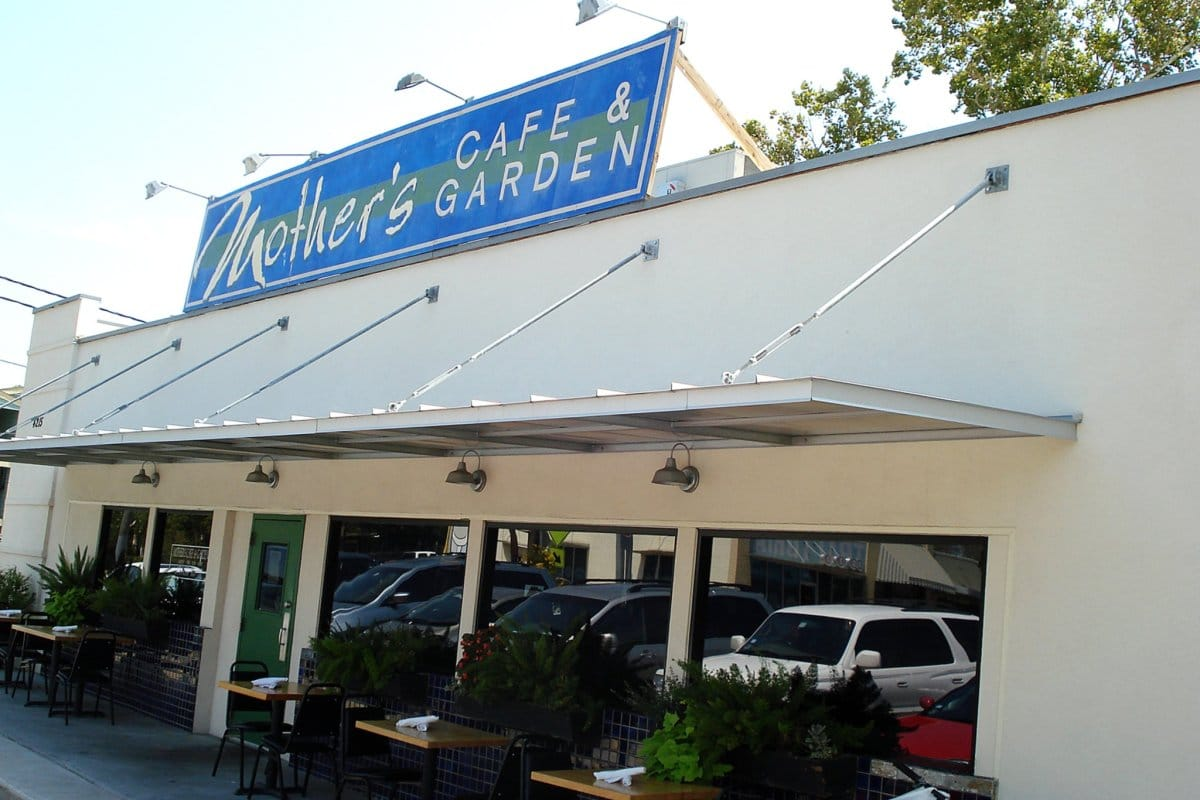 exterior shot of mother's cafe