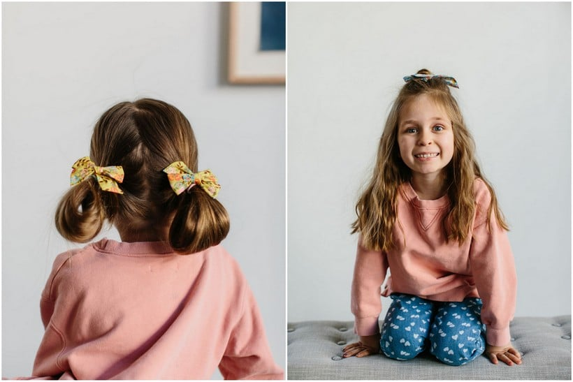 Three Quick And Easy Kid S Hairstyles The Effortless Chic